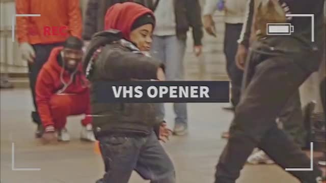 VHS Intro: After Effects Templates