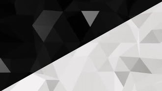 Black & White Triangles 4K: Motion Graphics