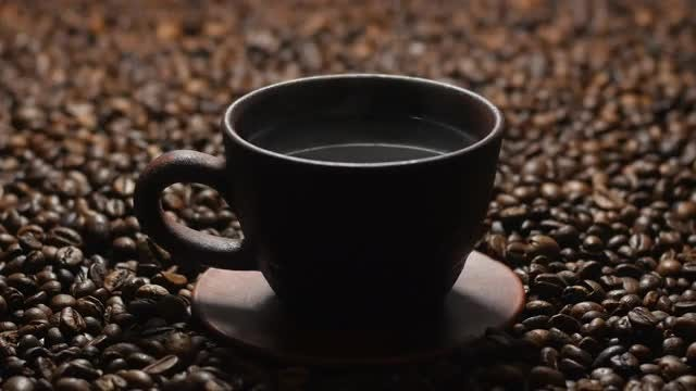 Hot Cup Of Coffee: Stock Video