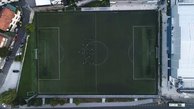 Soccer Field: Stock Video