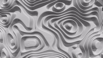 Abstract Waves Loop: Stock Motion Graphics