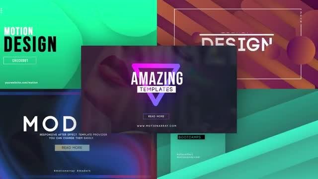 Unique Big Titles: Motion Graphics Templates
