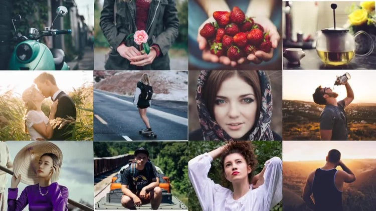 Minimal Photo Opener: After Effects Templates