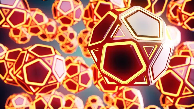 Flying Dodecahedrons: Motion Graphics