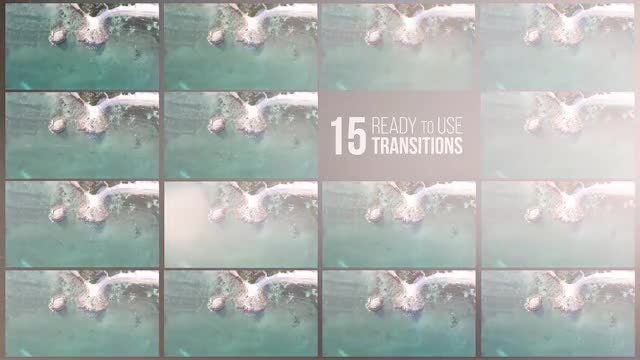 Light & Scratches Transitions: Premiere Pro Templates