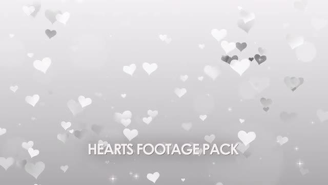 Hearts Background Pack: Stock Motion Graphics