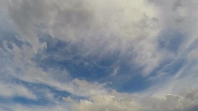 Dramatic Cloud Movement: Stock Video