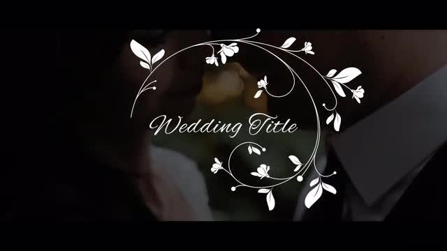 Elegant Wedding Titles: Premiere Pro Templates
