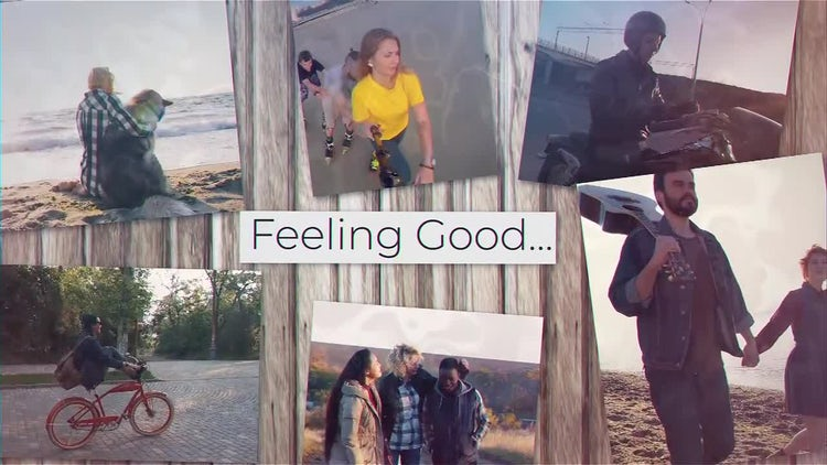 Feeling Good: After Effects Templates