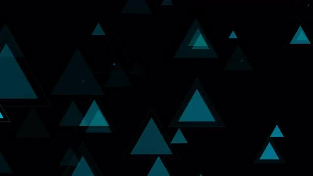 Flashing Triangles: Stock Motion Graphics