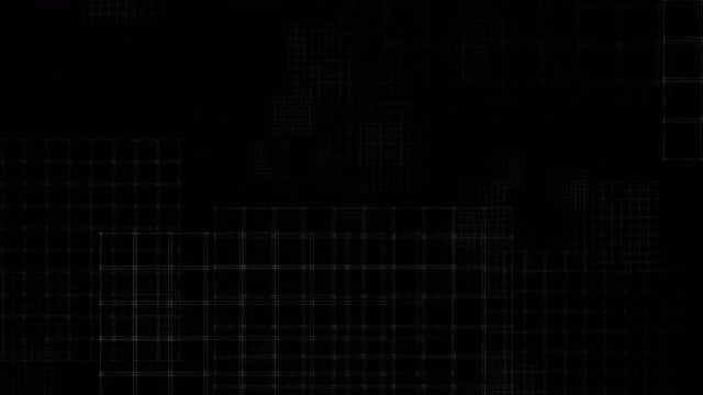 Flying Grids: Stock Motion Graphics