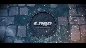 Logo on the road: After Effects Templates