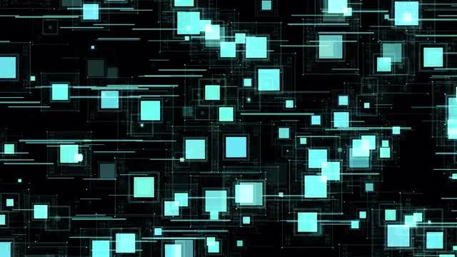 Squares Movement Background: Stock Motion Graphics