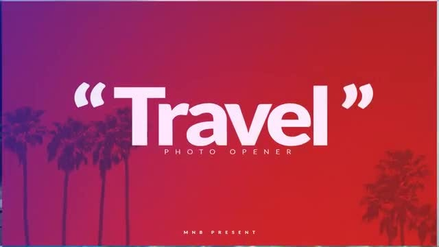 Travel Photo Opener: After Effects Templates