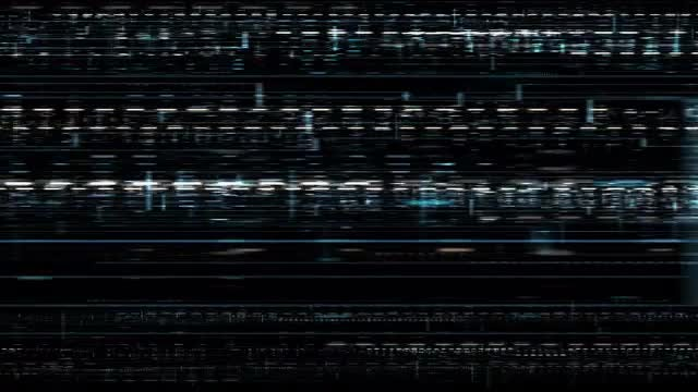 Fast Moving Glitch Background: Stock Motion Graphics