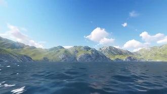 Ocean Flight: Motion Graphics