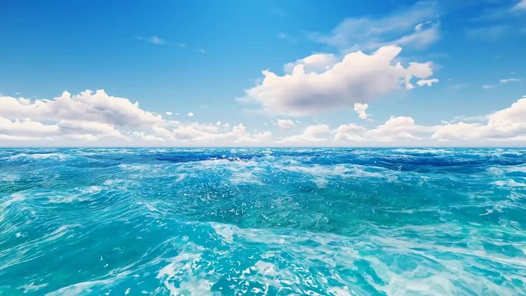 Real Ocean: Stock Motion Graphics