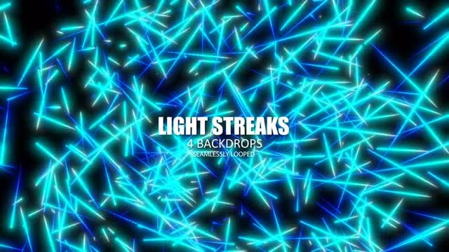 Light Spikes Pack: Stock Motion Graphics