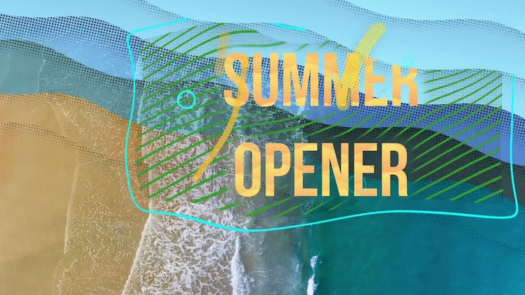 Summer Time Opener: After Effects Templates