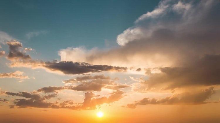 Beautiful Sunset: Stock Video
