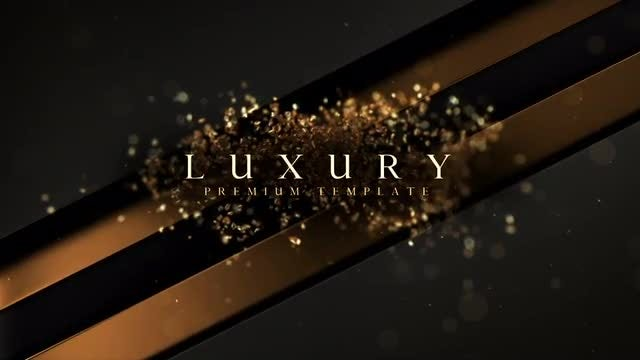 Luxury: After Effects Templates
