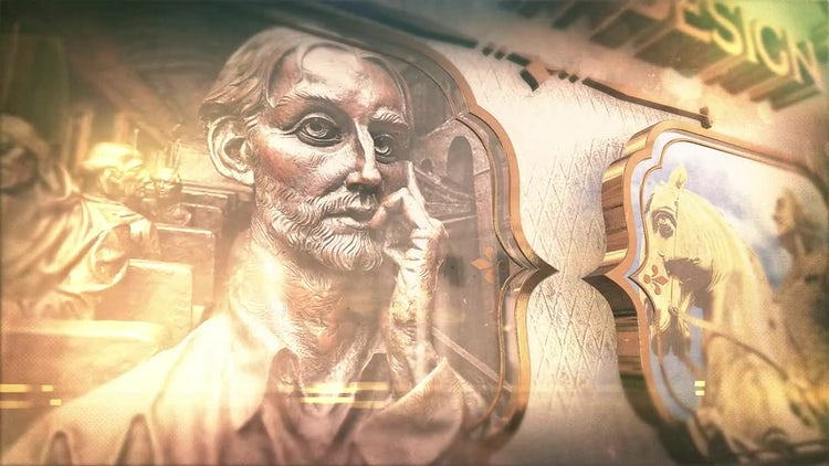 Vintage History Opener: After Effects Templates