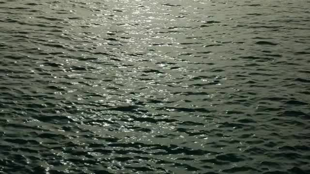 Sunlight On The Water: Stock Video