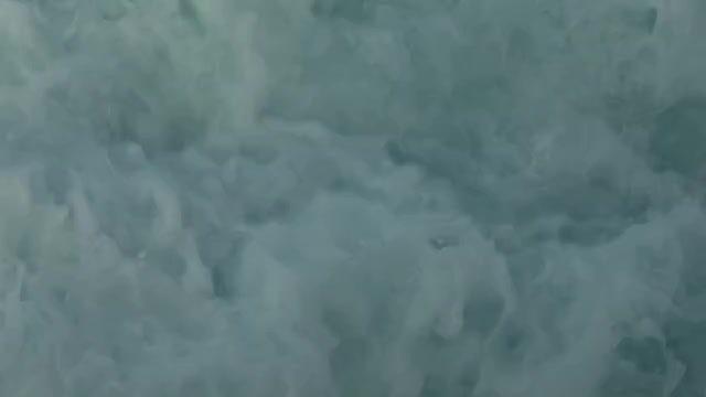 Water Behind A Speedboat: Stock Video