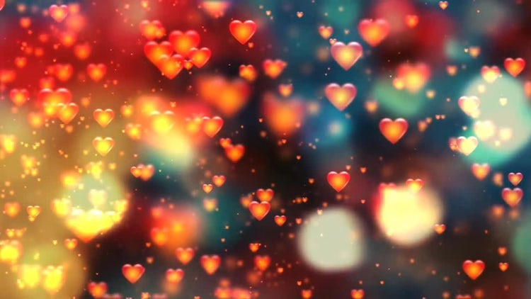 Valentines Hearts: Motion Graphics