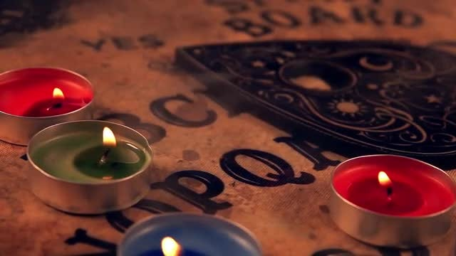 Witchcraft Ouija Board 2: Stock Video