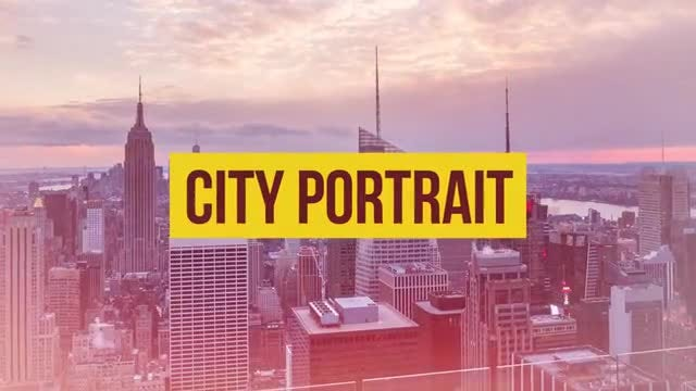 City Portrait: Premiere Pro Templates
