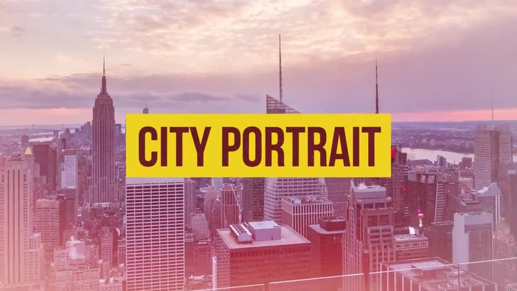 City Portrait: Premiere Pro Templates