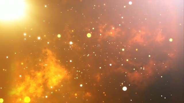 Fiery Bright BackGround: Stock Motion Graphics