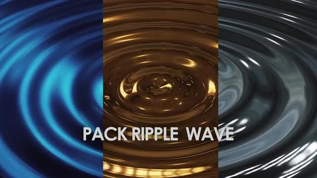 Pack Ripple  Wave: Stock Motion Graphics