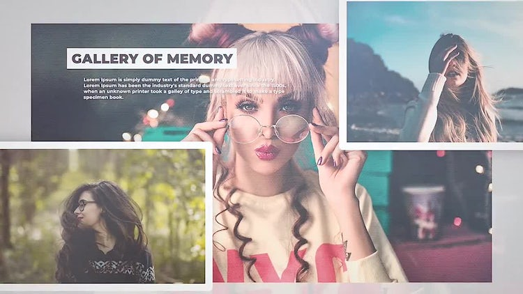 Gallery Of Memory: Final Cut Pro Templates