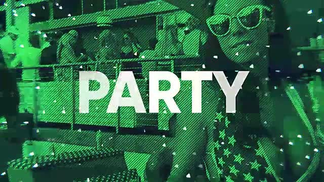 Modern Energy Trap Party Opener: After Effects Templates