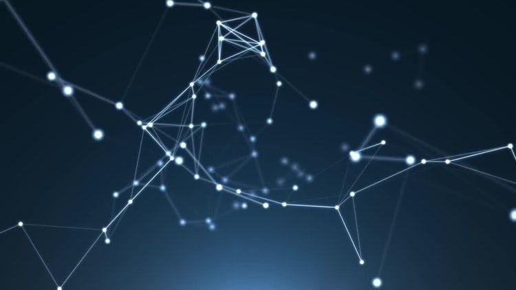 Plexus Night Sky: Motion Graphics