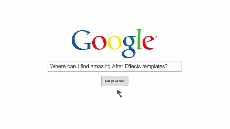 Web Search: After Effects Templates