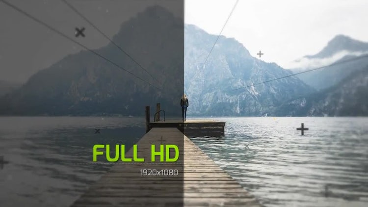 3d Motion Rain: After Effects Templates