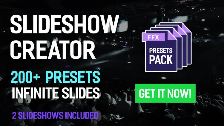 Slideshow Creator - 200+ Presets Pack: After Effects Templates