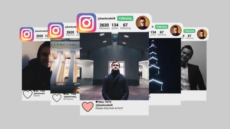 Instagram Promo: After Effects Templates