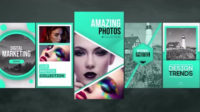 Instagram Photo Stories V3: After Effects Templates