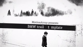 B&W Trailer: After Effects Templates