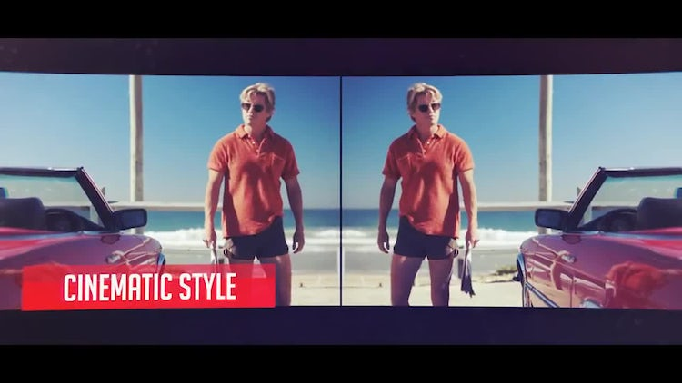 Dynamic Video Slide: After Effects Templates