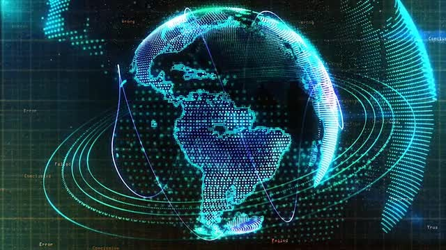 Digital Earth: Stock Motion Graphics