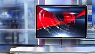 Virtual Studio Newsroom C5: Motion Graphics