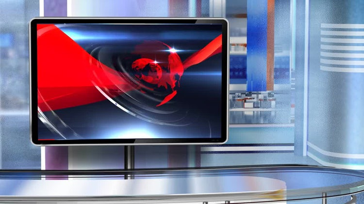 Virtual Studio Newsroom C6: Motion Graphics