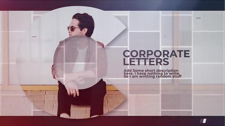 Corporate Letters: Final Cut Pro Templates
