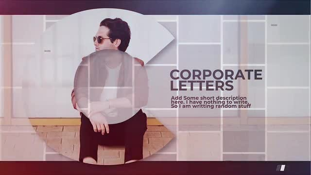 Corporate Letters: Final Cut Pro Templates