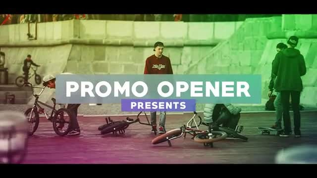 Promo Opener: After Effects Templates